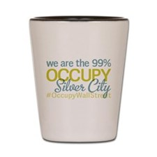 Occupy Silver City Shot Glass