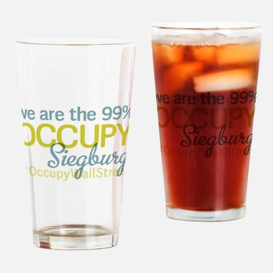 Occupy Siegburg Drinking Glass