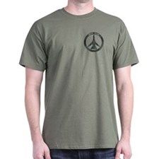FB-111A Peace Sign T-Shirt (Dark)