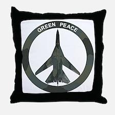 FB-111A Peace Sign Throw Pillow