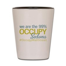 Occupy Sedona Shot Glass
