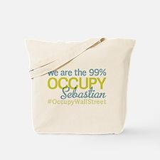 Occupy Sebastian Tote Bag