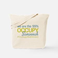 Occupy Savannah Tote Bag