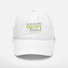 Occupy Savannah Baseball Baseball Cap
