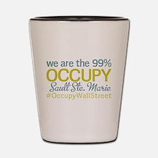 Occupy Sault Ste. Marie Shot Glass