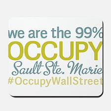 Occupy Sault Ste. Marie Mousepad