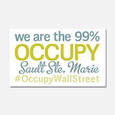 Occupy Sault Ste. Marie Car Magnet 20 x 12