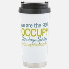 Occupy Saratoga Springs Stainless Steel Travel Mug