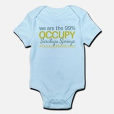 Occupy Saratoga Springs Infant Bodysuit