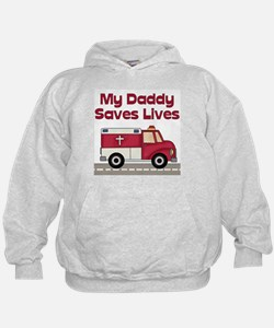 My Daddy Saves Lives Hoodie