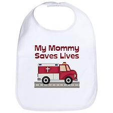 My Mommy Saves Lives Bib