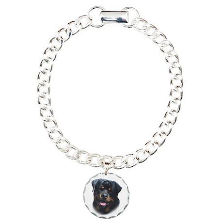 General -Rottweiler Head ( Ma Charm Bracelet, One