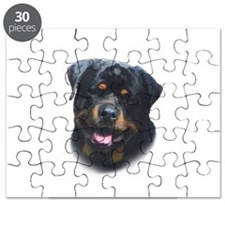 General -Rottweiler Head ( Ma Puzzle