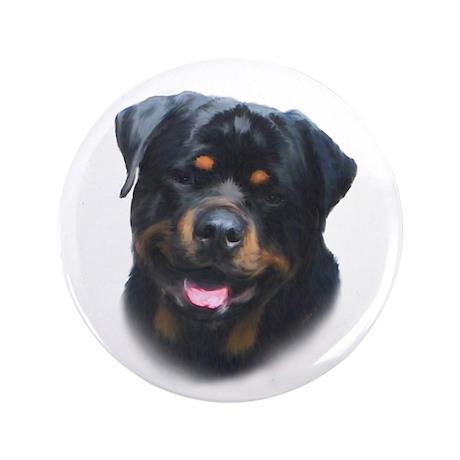 """A Special Rottweiler 3.5"""" Button"""
