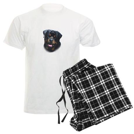 A Special Rottweiler Men's Light Pajamas