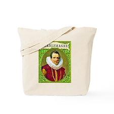 Charlemagne Cigar Label Tote Bag