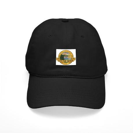Estes Park Brewery Logo Black Cap