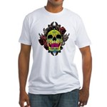 Sugar Skull Fitted T-Shirt