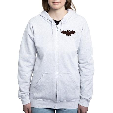 Bat Women's Zip Hoodie