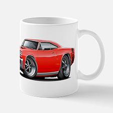 1969 Super Bee Red-Black Car Mug