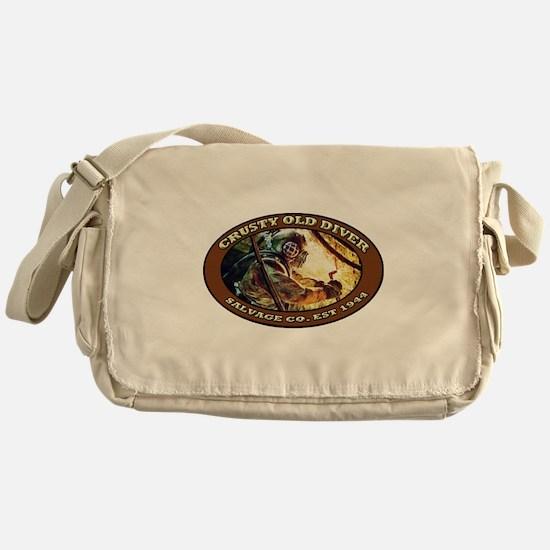 Unique Diver Messenger Bag