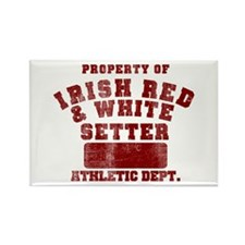 IRWS Athletic Dept Rectangle Magnet (100 pack)