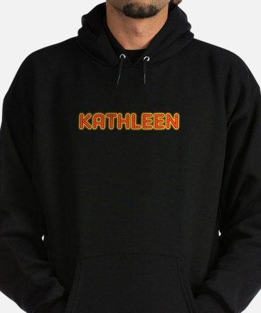 Kathleen in Movie Lights Hoodie (dark)
