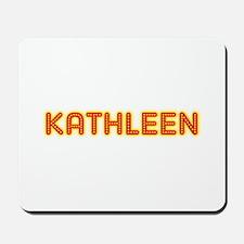 Kathleen in Movie Lights Mousepad