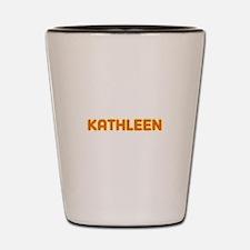 Kathleen in Movie Lights Shot Glass