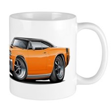 1969 Super Bee Orange-Black Car Mug
