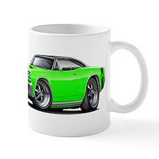 1969 Super Bee Lime-Black Car Mug