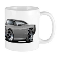 1969 Super Bee Grey-Black Car Mug