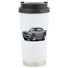 1969 Super Bee Grey-Black Car Travel Mug
