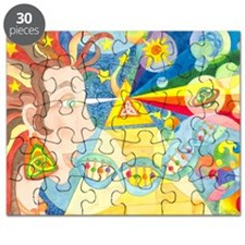 Creation Myth Watercolor Puzzle