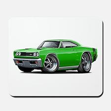 1969 Super Bee Green Car Mousepad