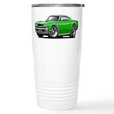 1969 Super Bee Green Car Travel Mug