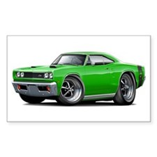 1969 Super Bee Green Car Decal