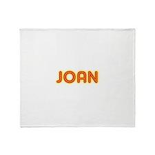 Joan in Movie Lights Throw Blanket