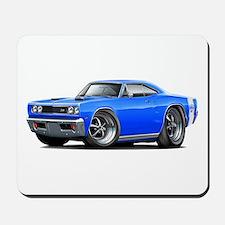 1969 Super Bee Blue Car Mousepad