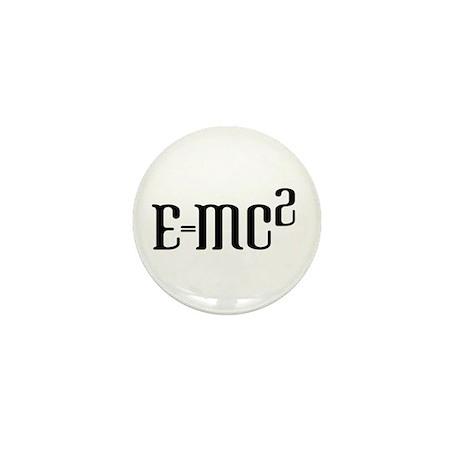 E=MC2 Mini Button