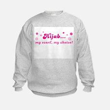 Girl's Hijab Sweatshirt