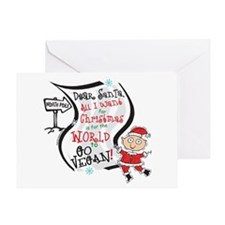Vegan Christmas Wish Greeting Card