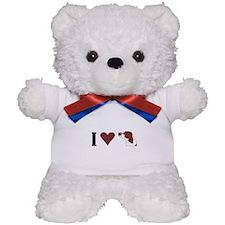 I Heart IRWS Teddy Bear