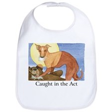"""CAUGHT IN THE ACT"" (with copy) Bib"