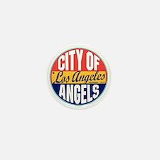 Los Angeles Vintage Label Mini Button