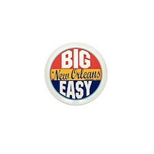 New Orleans Vintage Label Mini Button