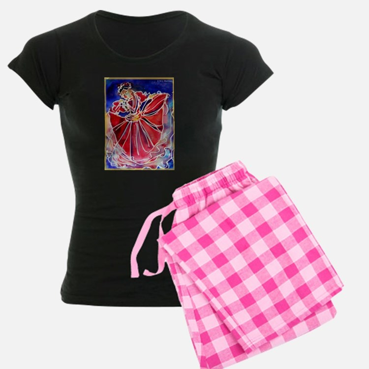 Fiesta Dancer, bright, art, Pajamas