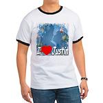 I Love Justin Ringer T