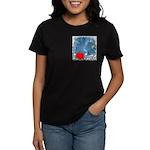 I Love Justin Women's Dark T-Shirt