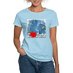 I Love Justin Women's Light T-Shirt